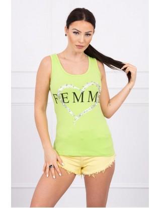 Tielko zelené FEMME