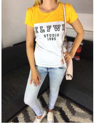 Dvojfarebné dámske tričko