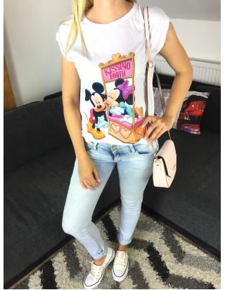 Tričko dámske Mickey kiss