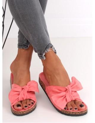 Ružové pohodlné šľapky