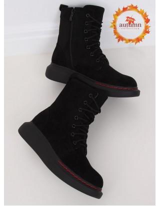 Vysoké topánky čierne
