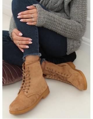Hnedé topánky na šnurovanie