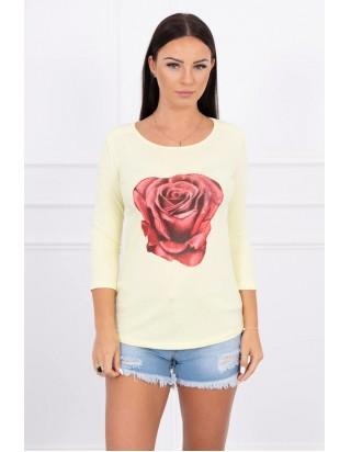 Tričko ruža žlté
