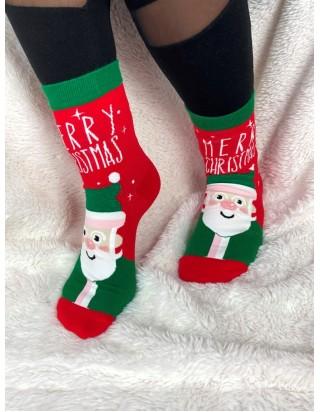 Skvelé vianočné ponožky Mikuláš