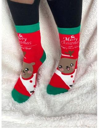 Skvelé vianočné ponožky