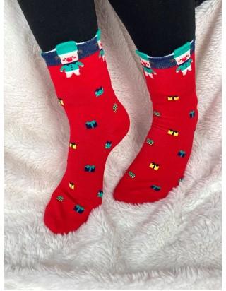 Vianočné ponožky darček