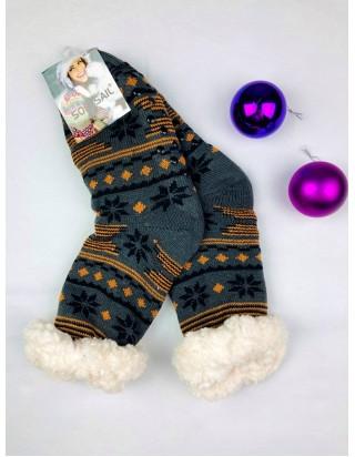 Vianočné ponožky vzor Vločka