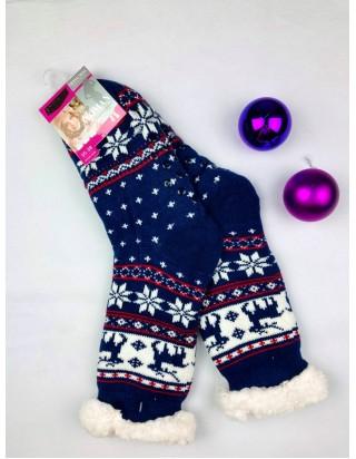 Vianočné ponožky Jelenček