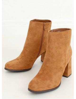 Hnedé topánky na podpätku