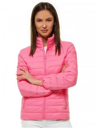 Dámska bunda ružová