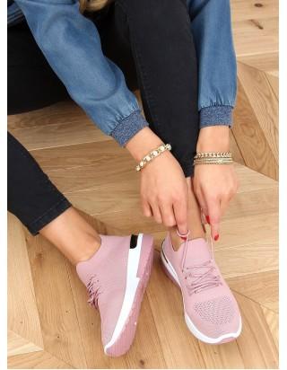 Ľahké a pohodlné ružové tenisky