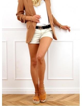 Hnedé sandále s otvorenou špičkou