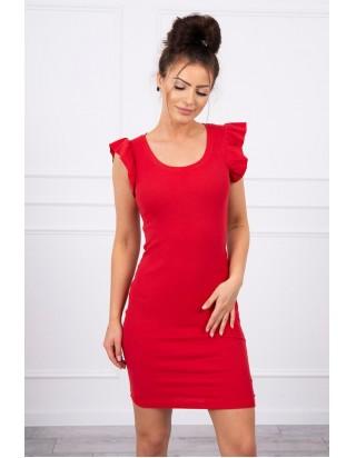 Letné šaty červené