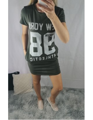 Kaki šaty/tunika 98
