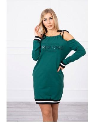 Zelené šaty CHIC