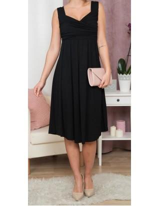 krásne šaty čierne