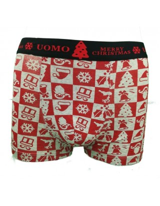 Krásne moderné boxerky vianočné