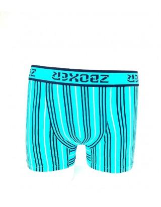 Krásne štýlové pásikavé boxerky modré