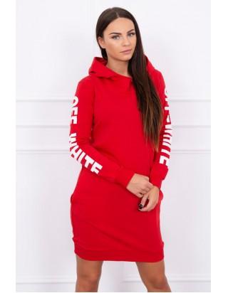 Dámske športové šaty červené