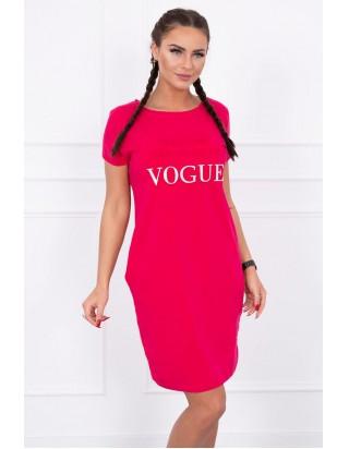 006142d68 Dámske cyklamenové pohodlné šaty