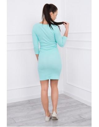 99fb4ac750bd Timmyoblečko - Krásne mentolové prúžkované šaty