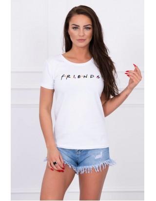 Biele dámske tričko