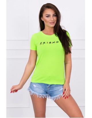 Dámske zelené tričko