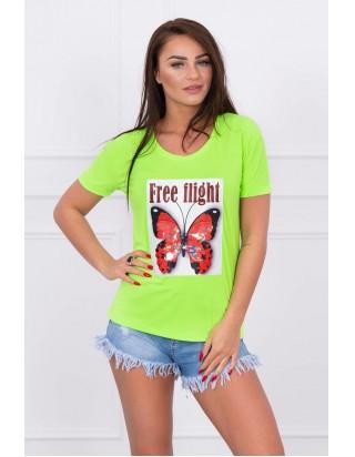 Letné dámske letné tričko