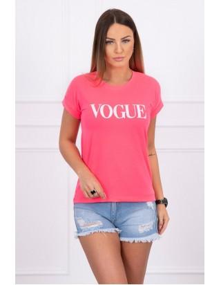 Dámske letné ružové tričko