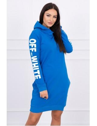 Dámske moderné šaty s kapucňou