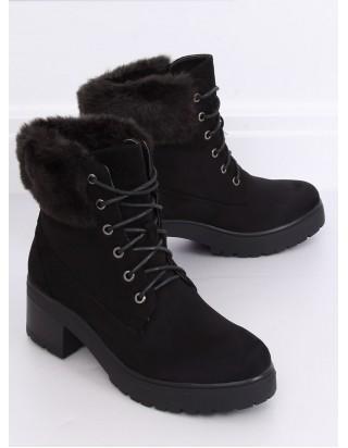 Dámske čierne topánky