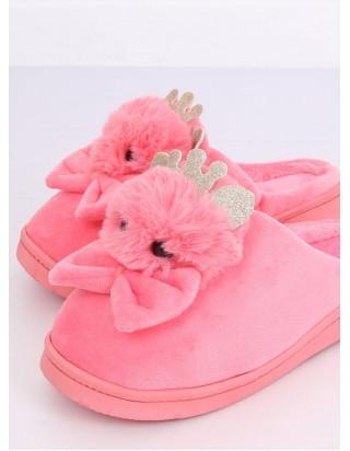 Dámske ružové papučky Myška