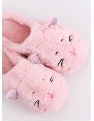 Dámske ružové papučky Mačka