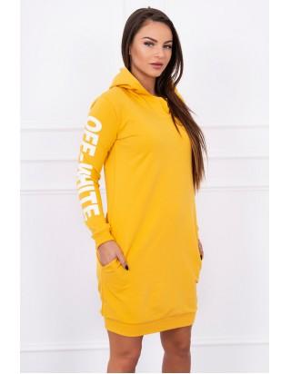 Dámske športové žlté šaty