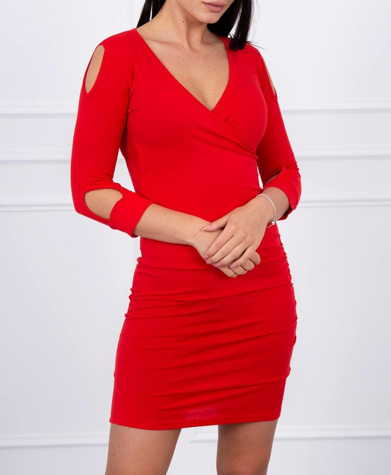 95034d32c6 Timmyoblečko - Červené šaty