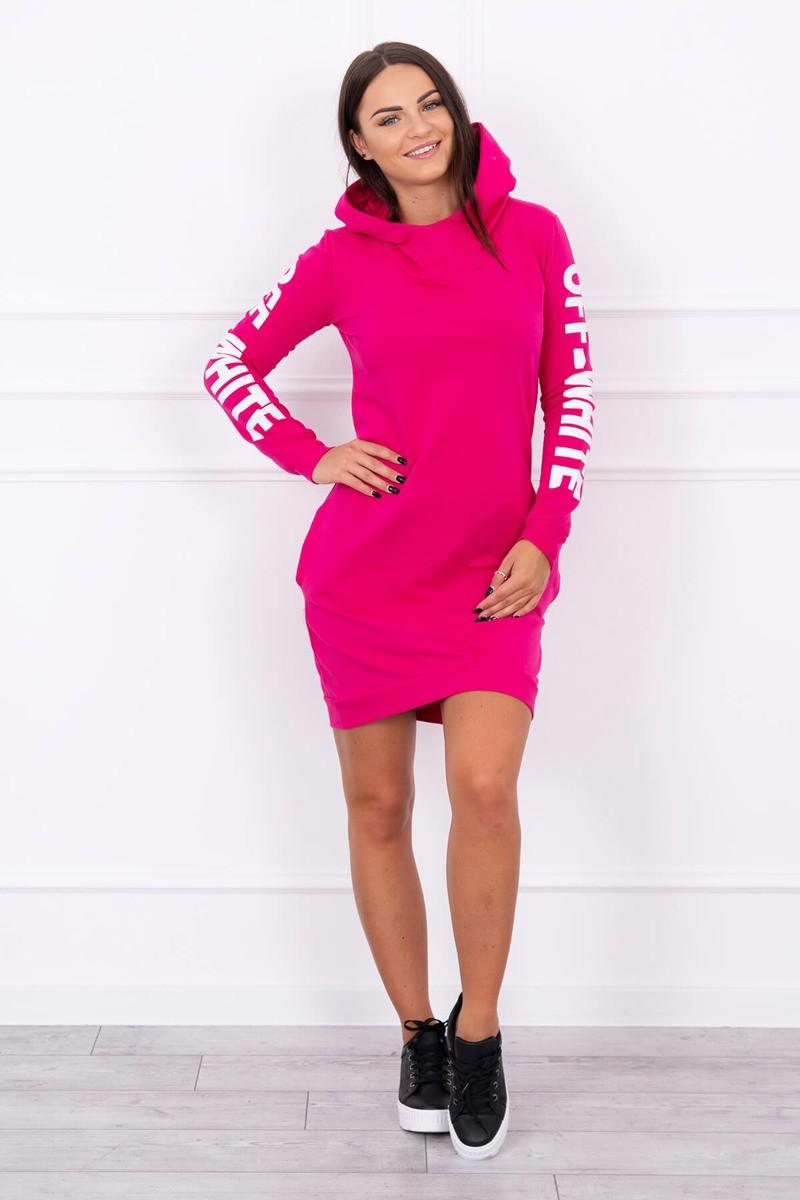 9c6026e441 Timmyoblečko - Moderné štýlové šaty cyklamenové