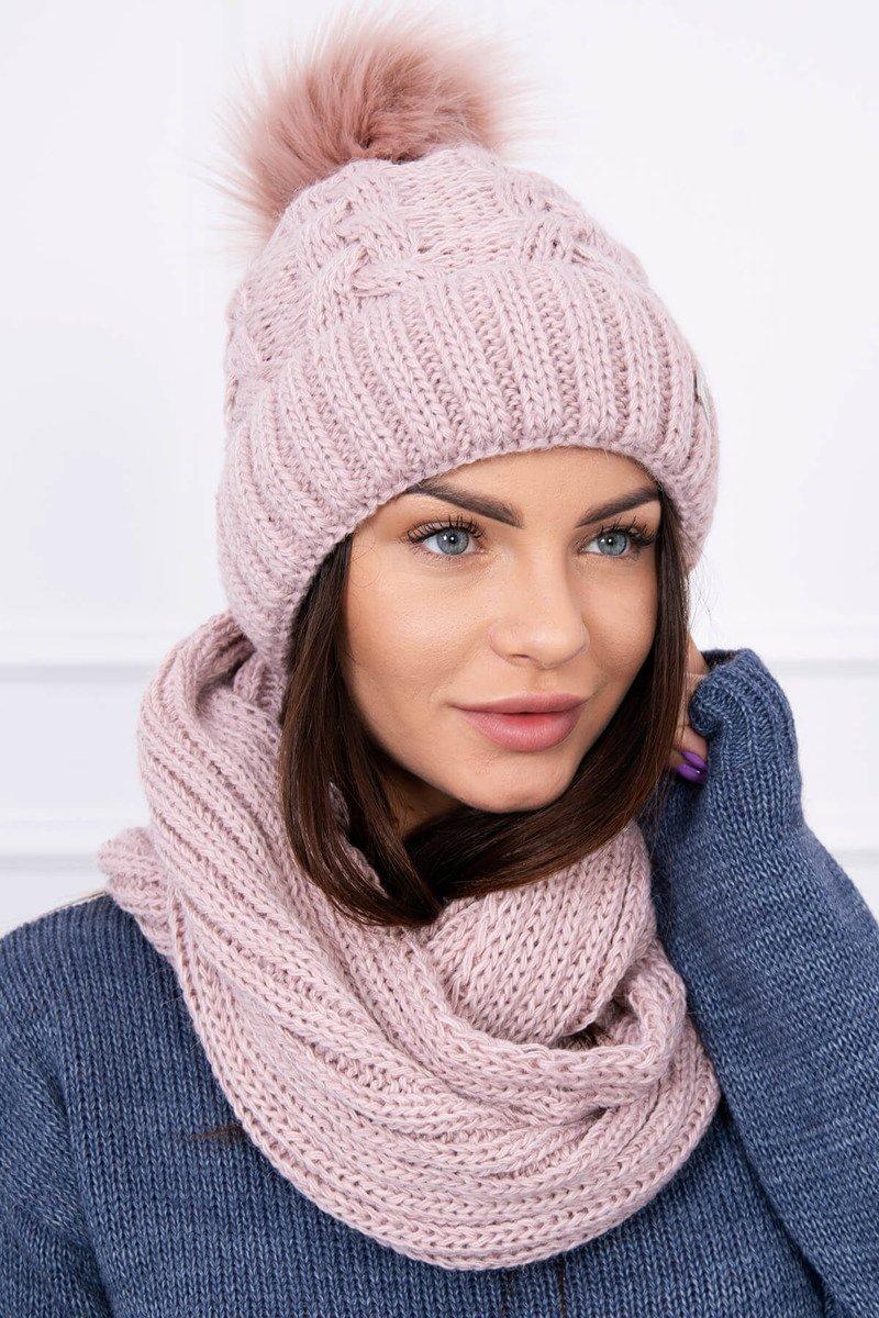 ad871b5d6 Timmyoblečko - Šál+čiapky ružová farba
