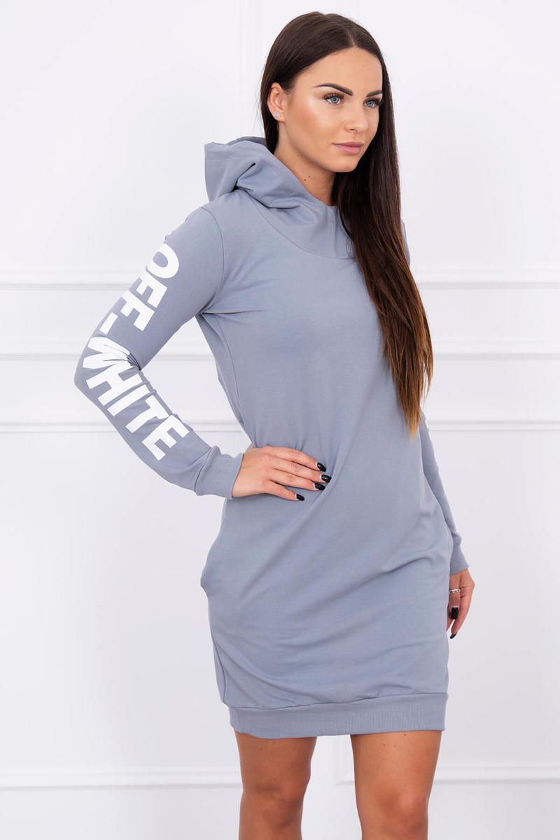2fdd6aef73bbd Timmyoblečko - Moderné štýlové šaty šedé