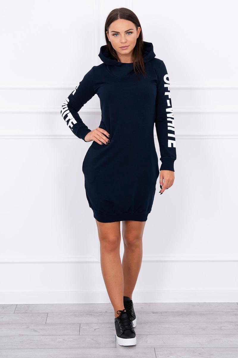 Moderné štýlové šaty modré. Dostupnosť  Skladom (dodanie ... d1cf0afea6f