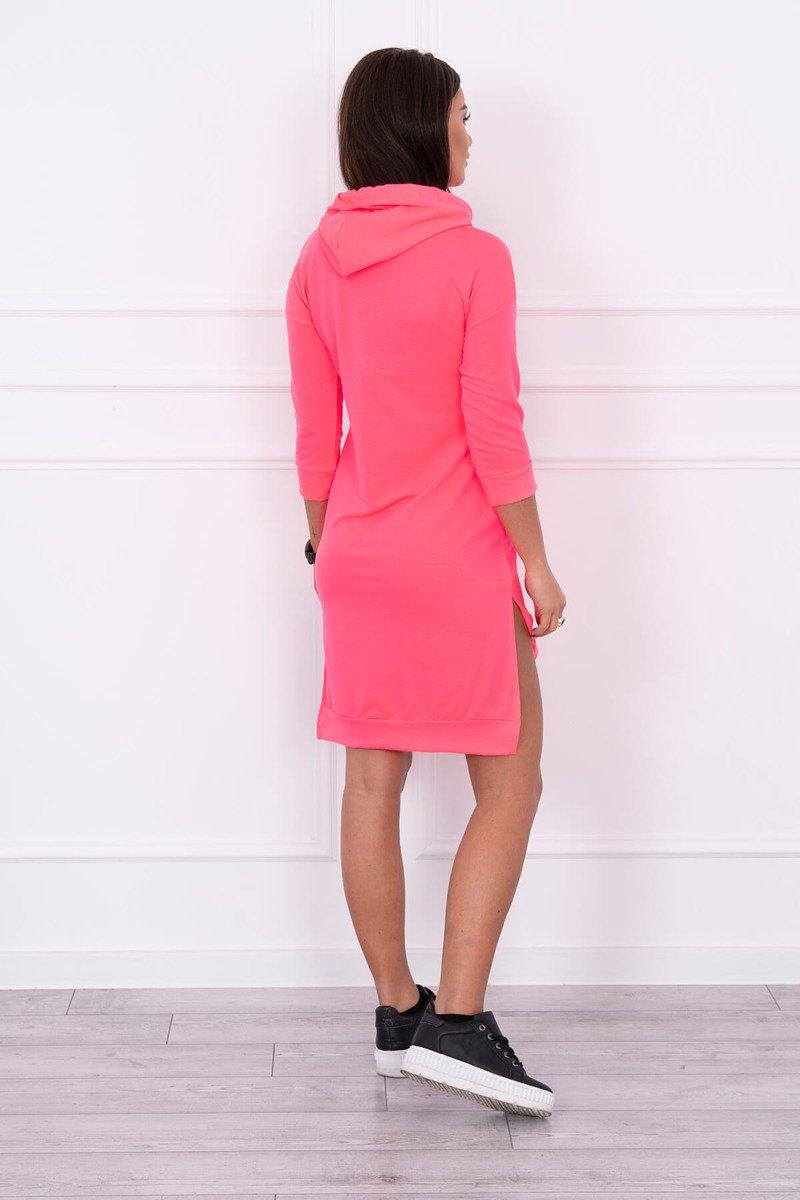 5ef3c08ff01e Športové ružové štýlové šaty predĺžené zozadu Športové ružové štýlové šaty  predĺžené zozadu ...