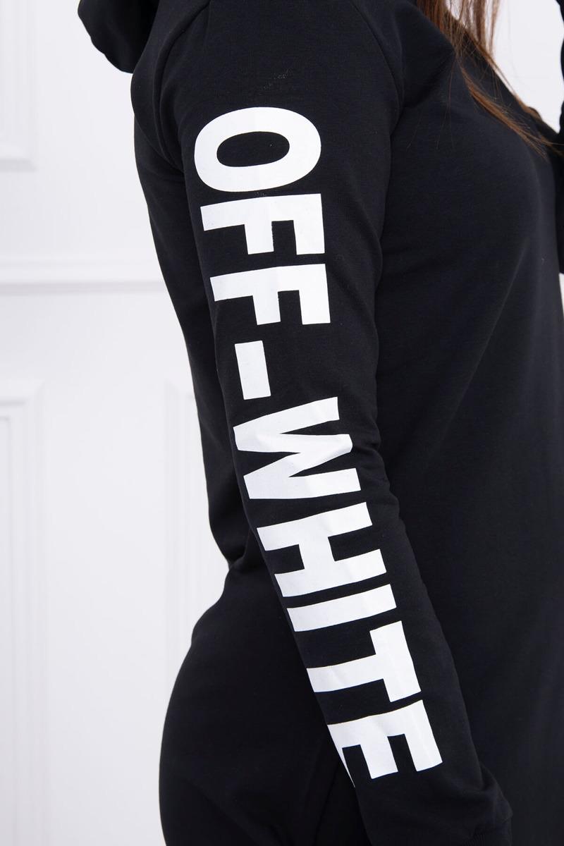 Moderné štýlové šaty čierne 38439423d92