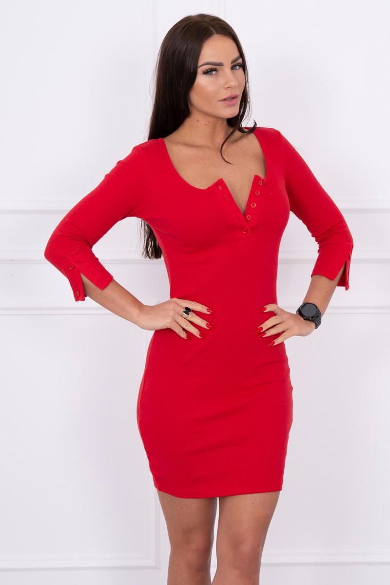 0f2379703d83 Timmyoblečko - Krásne elegantné červené šaty