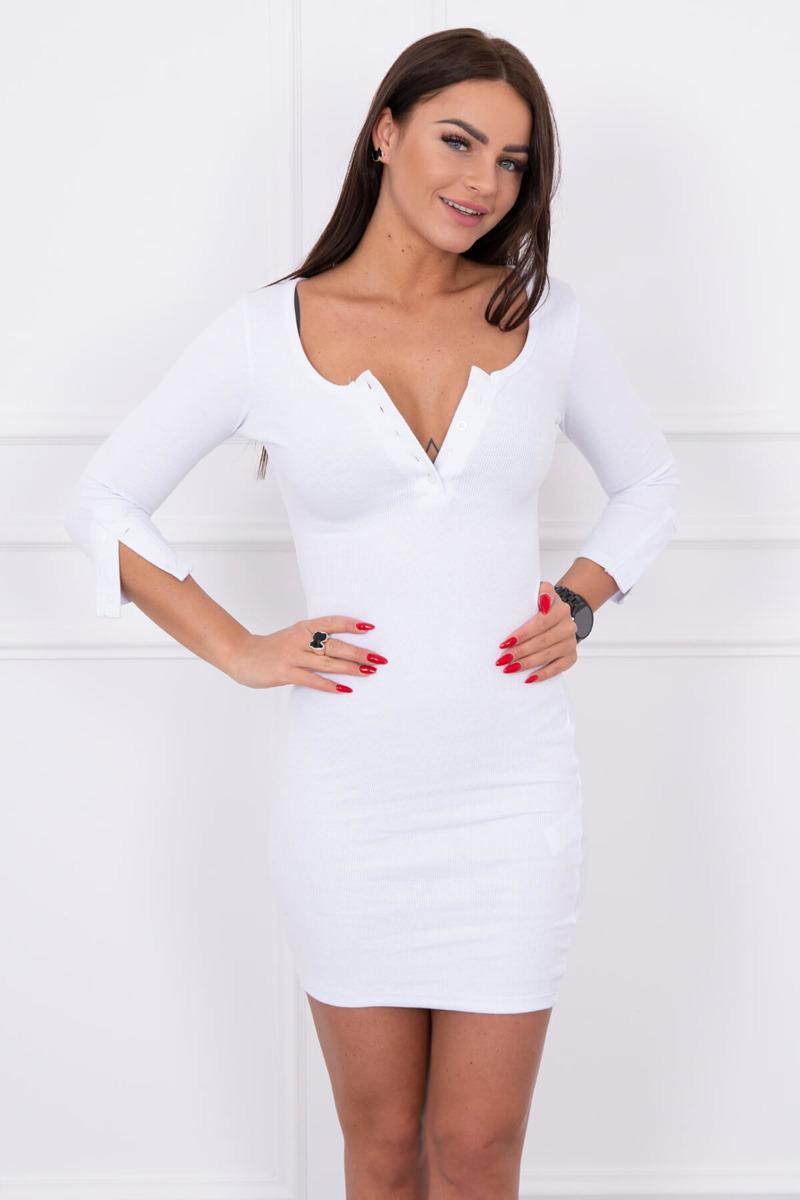 8a6e48c472c7 Biele krásne elegantné šaty Biele krásne elegantné šaty ...