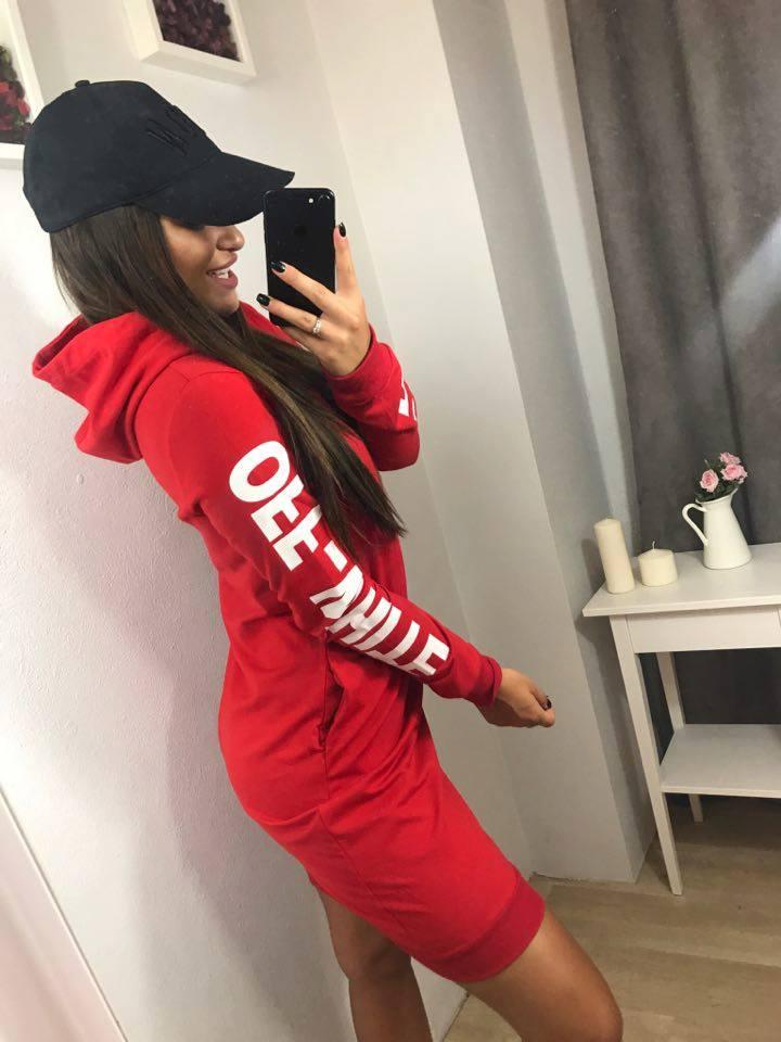 c301769324da Timmyoblečko - Dámske športové šaty červené
