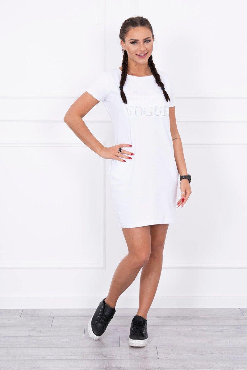 144f1d4c3 Timmyoblečko - Biele letné šaty