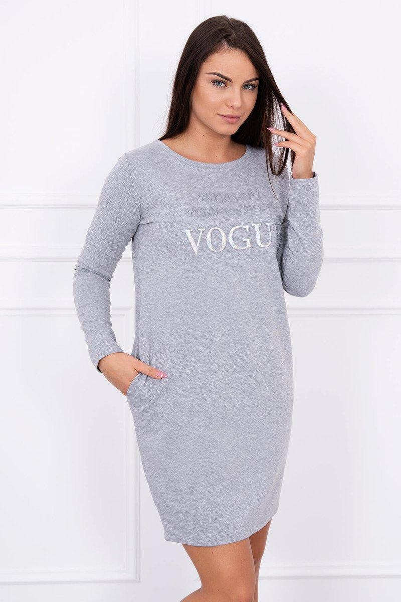 302c3bc2ba3f Krásne šedé šaty príjemného materiálu Krásne šedé šaty príjemného materiálu  ...