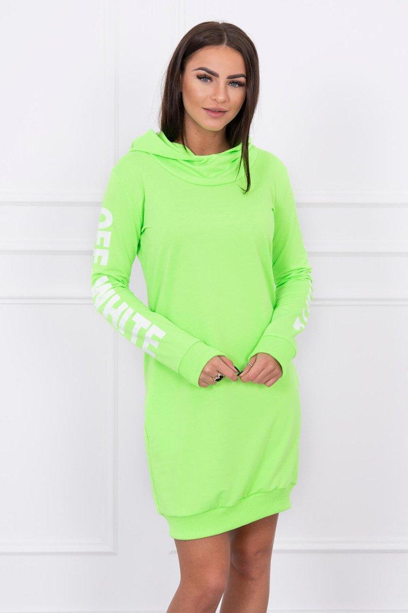 91035e8fdfe8 Timmyoblečko - Dámske športové neónové šaty zelené